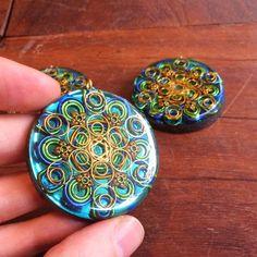 How to make orgonite pendants pendants and craft orgone generator amulet model blue dragon aloadofball Choice Image