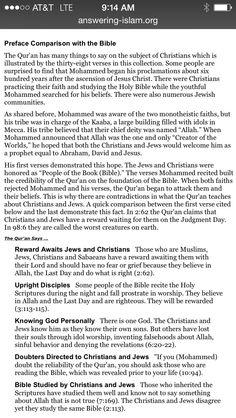Bible ca Koran