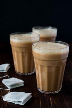 Teh Tarik (Malaysian Pulled Tea)