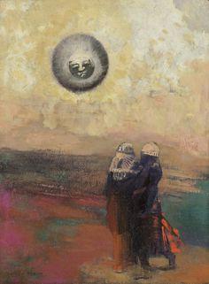 Odilon Redon, The Black Sun, c.1900.