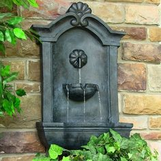 Wall Mounted Yard Water Fountain   InfoBarrel Images | Home | Pinterest |  Yard Water Fountains, Water Fountains And Fountain