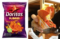 We've reached the pinnacle of Food-Technology.  I present to you... TWO new Doritos Locos Tacos flavors.  My stomach... it hurts.... so good.