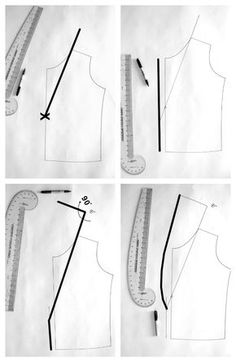 Sewing Techniques Couture how to easily draft a shawl collar - How to add a shawl collar to a regular vest or jacket pattern, and then how to sew a reversible shawl collar vest! Blazer Pattern, Collar Pattern, Jacket Pattern, Coat Patterns, Dress Sewing Patterns, Clothing Patterns, Skirt Patterns, Blouse Patterns, Vogue Patterns