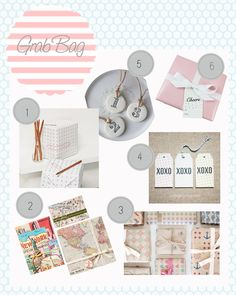 Fun gift wrap and tags