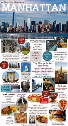Travel and Trip infographic Manhattan, New York City, Shortcut Travel Guide. Infographic Description Manhattan, New York City, Shortcut Travel Guide - Manhattan New York, Lower Manhattan, Voyage Usa, Voyage New York, New York City Vacation, New York City Travel, New York Travel Guide, Travel Tips, Travel Destinations