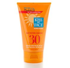 Cruelty-free sun protection: Kiss My Face Oat Protein Sunscreen. On my shopping list this summer!