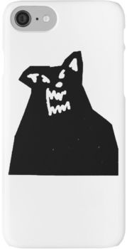 Russ Diemon - There's Really A Wolf Album Cover [BLACK] iPhone 8 Cases
