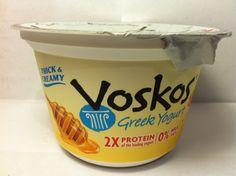 Crazy Food Dude Review: Voskos Original Greek Honey Greek Yogurt
