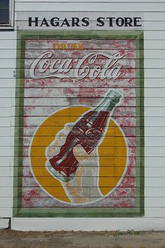 Old Advertising Sign