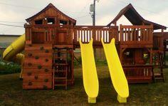 Backyard Fun Factory: Combo Playset