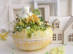 C.h.e.a.p.-art: Вдохновение от ДК. Наталья Бойкова: пасхальные шкатулочки для конфет