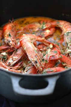 The Traveler's Lunchbox - Journal - Prawns with Chili and Feta, or You'd Have Done the Same
