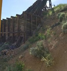 The famed, abandoned Yellow Jacket Mine is located in the Gold Hill area of Virginia City in Storey County. Gold Hill is widely believed to be the most haunted place in all of Nevada.