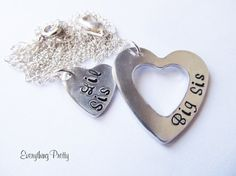 Sister Jewelry Set  Sister Necklace and by EverythingPrettyShop, $29.00