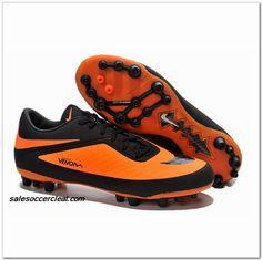Nike Hypervenom Phatal AG Mens Black Bright Citrus $60.00