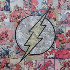 Flash Logo by MikeAlcantara.deviantart.com on @DeviantArt