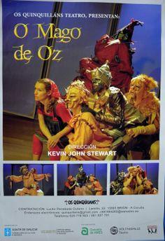 O mago de Oz [Material gráfico] / Fotografía e desseño Xan G. Muras. Os Quinquilláns