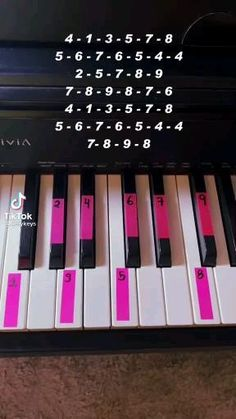 Piano Sheet Music Letters, Piano Music Easy, Piano Music Notes, Music Chords, Ukulele Songs, Piano Lessons, Music Lessons, Piano Tutorial, Keyboard Tutorial