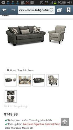 Living room furniture. #different #style #decor #furniture #americanSignature