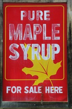 maple syrup #americabound #newenglandbound @Sheila -- -- -- S.P. Collette Farm