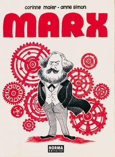 desde el blog TBEO Y NO LO CREO: BIOGRAFÍA DE MARX de C. MAIER & A. SIMON #comic #Marx #biografía #historia