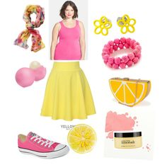 Pink Lemonade by lumos-glows on Polyvore featuring polyvore, fashion, style, Nordstrom, QNIGIRLS, Converse, Nila Anthony, TravelSmith, Eos, philosophy and John Derian