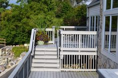 The balcony at Glen Oaks Golf Outing, Glen Oaks, Slate Roof, English Style, Balcony, Golf Courses, Deck, Building, Outdoor Decor