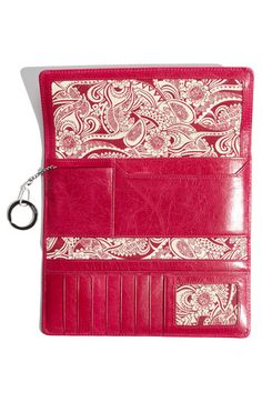 "My beautiful new Hobo International wallet.  ""Sadie"" in fuchsia!"