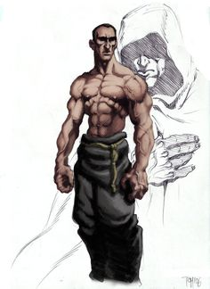 Monk Pathfinder Monk assassin by solidtom