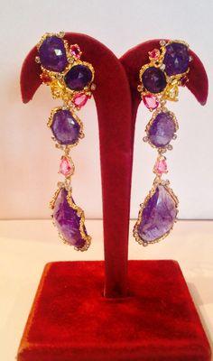 Tanzanite Drops Earrings