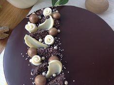 Vanilkovo-čokoládový dort Sweet Recipes, Panna Cotta, Cake Decorating, Cheesecake, Cupcakes, Pudding, Ethnic Recipes, Desserts, Food