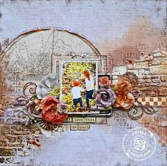 It's Prima Product Pick Time with Kelly Foster! #papercrafting #mixedmedia #fall