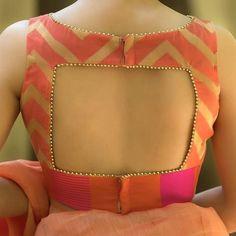 Indian Blouse Designs, Kurta Designs, Cotton Saree Blouse Designs, Blouse Back Neck Designs, Simple Blouse Designs, Latest Saree Blouse Designs, Choli Blouse Design, Latest Design Of Blouse, Pattern Blouses For Sarees