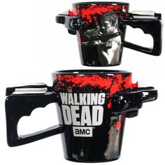omg......how much is this  why isn't it in my kitchen?!?! The Walking Dead Daryl Crossbow Coffee Mug