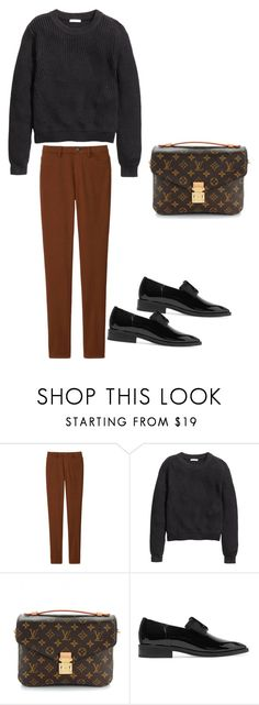 """Untitled #15"" by explorer-14499351471 on Polyvore featuring Uniqlo, H&M, Louis Vuitton and Lanvin"