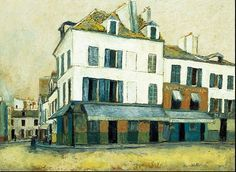 Square Tertre on Montmartre ~                                       Maurice Utrillo