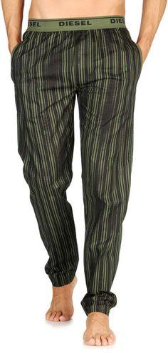 Diesel Derik in Green for Men (black) - Lyst... pijama.... lol