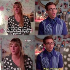 "#Glee 6x06 ""What the World Needs Now"" - Brittany and Artie"