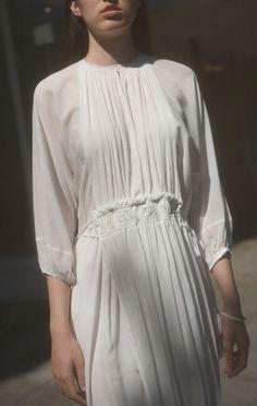 Anaïse | Apiece Apart Puebla Short Wabi Dress
