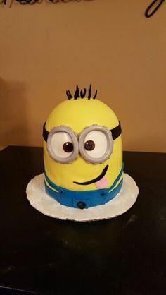 Fondant Minions on Pinterest  Minion Cakes, Fondant and Minion ...