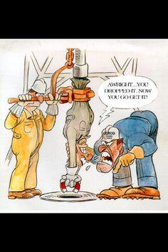 Oilfield humor