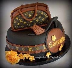 Louis Vutton taart