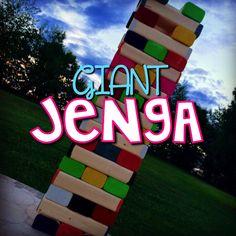 Elementary Shenanigans: GIANT Jenga: Set the Stage to Engage Week 7