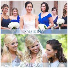 Traditional Makeup vs Airbrush Makeup. Charlotte Airbrush Makeup — Beauty Asylum Hair and Makeup