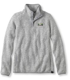 Bean's Sweater Fleece Pullover: Fleece Tops and Sweatshirts | Free Shipping at L.L.Bean