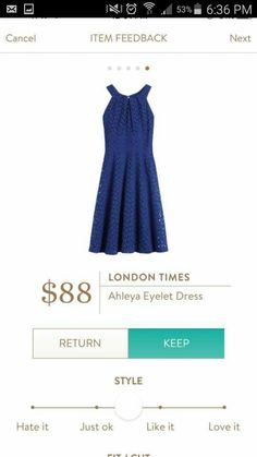 Stitch Fix: a dress like this would be perfect for an upcoming outdoor wedding!