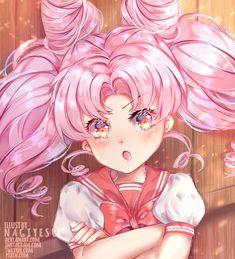 Fanart Chibiusa l Sailor moon by Nagiyesu on DeviantArt Sailor Moon Fan Art, Sailor Chibi Moon, Sailor Moon Crystal, Chibiusa And Helios, Manga Girl, Anime Girls, Kawaii Girl, Magical Girl, Cool Artwork