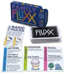 Fluxx a game of ever-changing rules