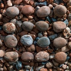 Pebbles on Brighton beach, UK.