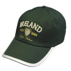 Casquette Ireland Verte